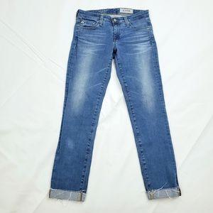 Adriano Goldschmied Stilt Cigarette Roll-Up Jeans